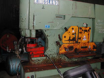 Kingsland 115 xs universal ironworker big capacity needs tlc