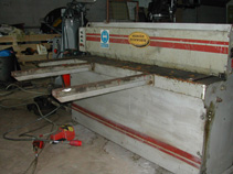 Morgan Rushworth 1.5m x 3.5mm direct drive Guilotine £1750