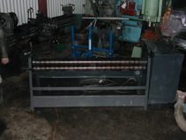 Edwards 4' powered initial pinch bending rolls